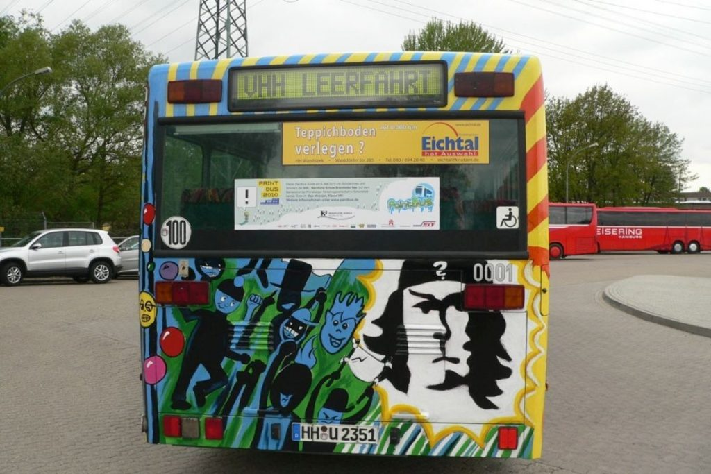 PaintBus 2010 in Bergedorf