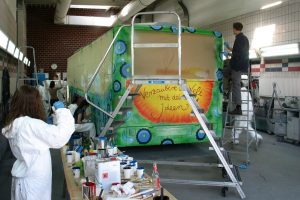 PaintBus 2012 in Schenefeld