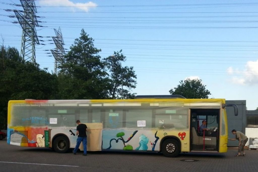 PaintBus 2014 in Bergedorf