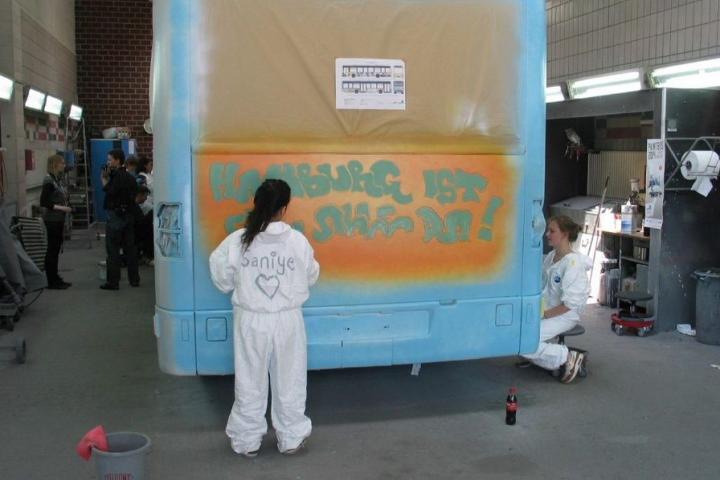 PaintBus 2014 in Schenefeld