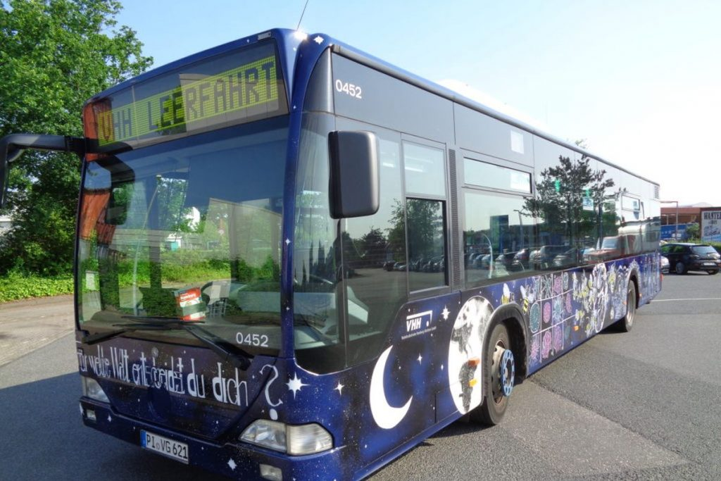 PaintBus 2016 in Schenefeld