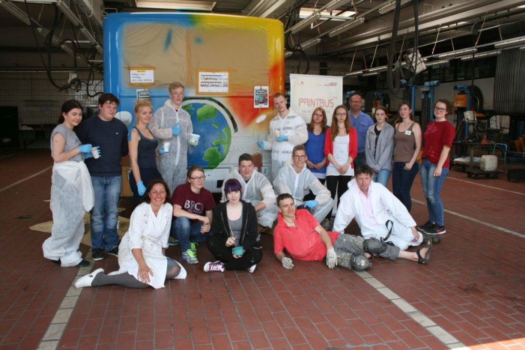 PaintBus 2016 in Bergedorf