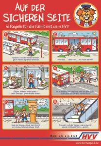 Sicherheitsregeln der HVV-Schulprojekte