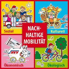 Viereck nachhaltige Mobilität