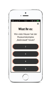 """Quizfrage der """"HVV-Zeitschiene"""" App"""