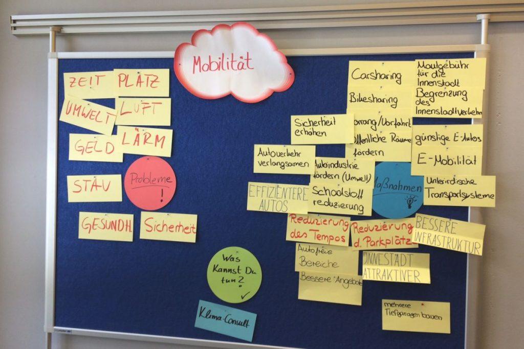 Die Berufliche Schule in Bad Oldesloe stellt sich den Fragen einer zukunftsfähigen Mobilität und nimmt am Projekt KlimaConsult der HVV-Schulprojekte teil.