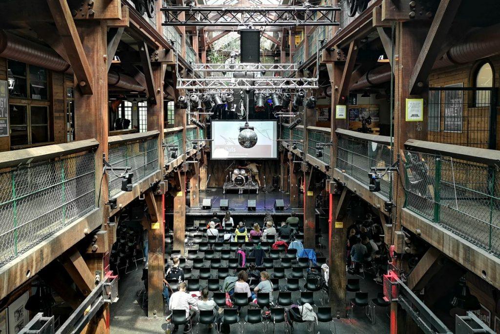 Die Preisverleihung zum HVV-Musikwettbewerb fand in der Fabrik in Altona statt