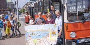 In der Woche vom 17. bis 21. Juni fand das Hamburger VorleseVergnügen 2019 statt. Die Veranstaltung für Schüler aus dem HVV-Gebiet fand zum 5. Mal statt.