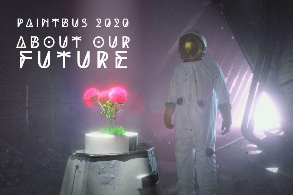 """Das Motto des Kreativwettbewerbs PaintBus 2020 lautet """"About our future"""". Schulklassen gestalten das Design für einen Bus rund um wichtige Zukunftsfragen."""