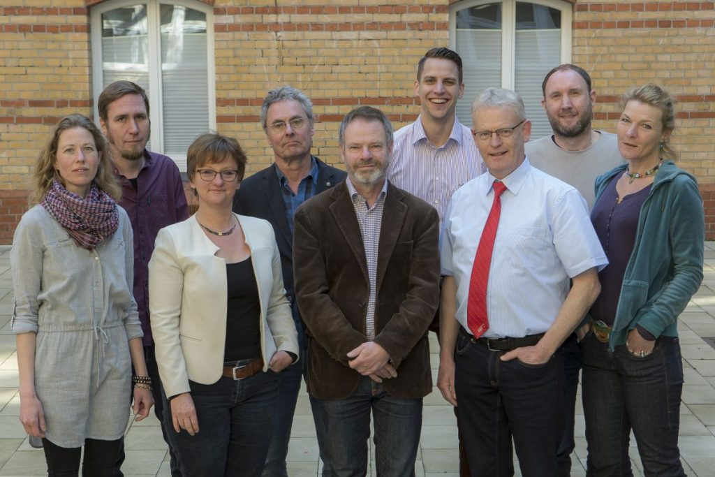 Das Team der HVV-Schulprojekte und der HVV-Mobilitätsberatung für Senioren