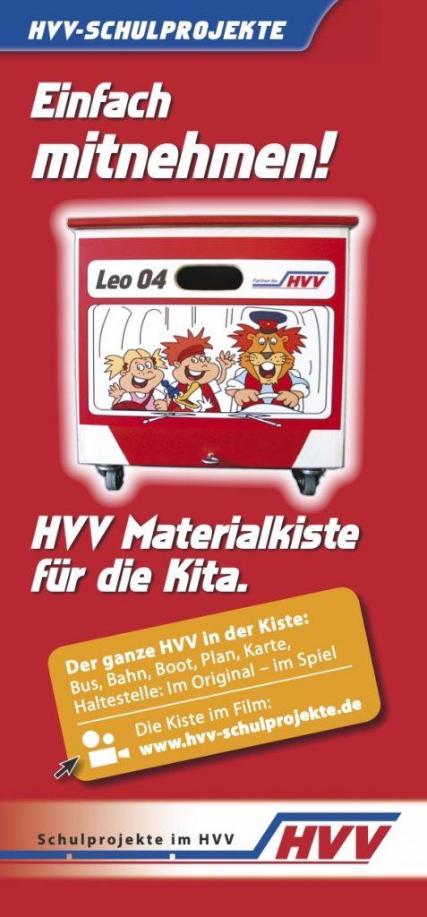 Infos zur Materialkiste der HVV-Schulprojekte