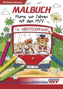 Das HVV-Schulprojekte-Malbuch für Kinder