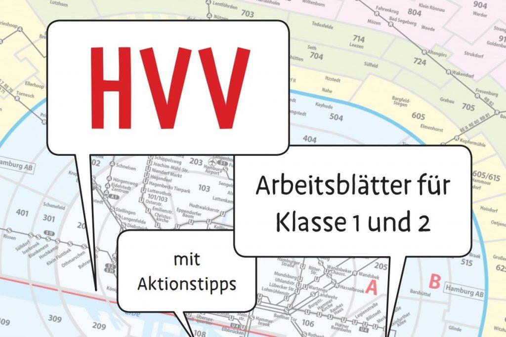 """Das Pixi-Wissen-Heft """"Paula und Zoe entdecken den HVV"""" der Schulprojekte im HVV – jetzt mit Arbeitsblättern zum gratis-Download."""